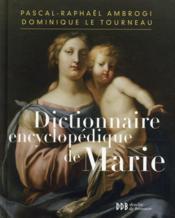 Dictionnaire encyclopédique de Marie - Couverture - Format classique