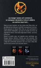 Hunger games T.1 - 4ème de couverture - Format classique