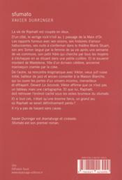 Sfumato - 4ème de couverture - Format classique