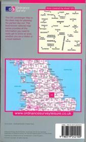 Mansfield-Worksop 1/50 000 - 4ème de couverture - Format classique