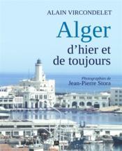 Alger d'hier et d'aujourd'hui - Couverture - Format classique