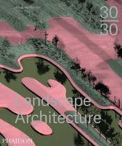 3030 contemporary landscape architecture - Couverture - Format classique