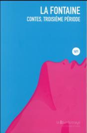 Contes, troisième période - Couverture - Format classique