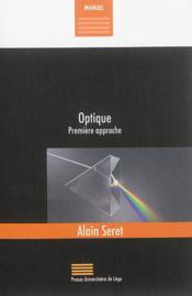 Optique ; première approche - Couverture - Format classique