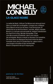 La glace noire - 4ème de couverture - Format classique