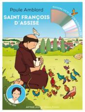 Saint Francois d'Assise raconté par Téo - Couverture - Format classique