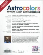 Astrocolors ; pour une maison qui nous ressemble - 4ème de couverture - Format classique