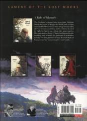 Lament of the lost moors T.4 ; Kyle of Klanach - 4ème de couverture - Format classique