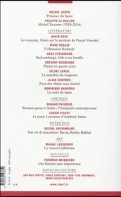 La Nouvelle Revue Francaise N.619 - 4ème de couverture - Format classique