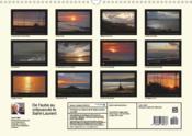 De l'aube au crépuscule ; le Saint-Laurent (Calendrier mural Calendrier perpétuel DIN A3 horizontal) - 4ème de couverture - Format classique