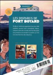 Les disparus de Fort Boyard - 4ème de couverture - Format classique