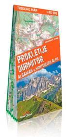 Prokletije, Durmitor, Alpes albanaise, Montenegro - Couverture - Format classique