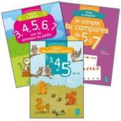 J'apprends les maths ; MS/GS ; pack n°1 (édition 2015) - Couverture - Format classique
