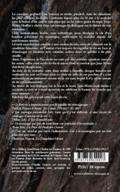 Un homme debout ; face au cancer ; conversations avec Claudie Guimet - 4ème de couverture - Format classique