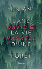 Un an dans la vie d'une forêt - Couverture - Format classique
