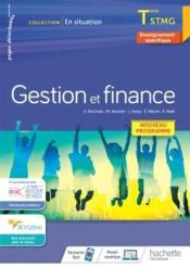 En situation ; gestion et finance ; terminale STMG ; cahier de l'élève (édition 2020) - Couverture - Format classique