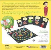 Le grand jeu de l'oie de Cornebidouille ! - 4ème de couverture - Format classique