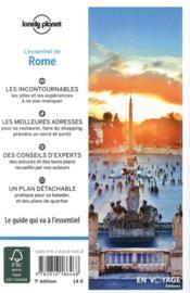 Rome (7e édition) - 4ème de couverture - Format classique