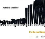 Des sculptures pour de vrai ; it s a real thing - Couverture - Format classique