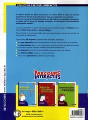 Activites Sur Poste Informatique - 4ème de couverture - Format classique