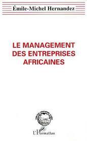 Le Management Des Entreprises Africaines - Intérieur - Format classique