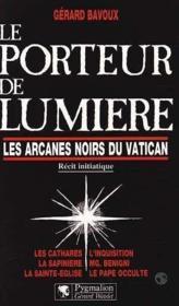 Porteur De Lumiere Arcane - Couverture - Format classique