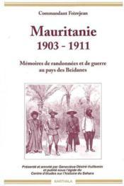 Mauritanie 1903-1911 - Couverture - Format classique