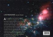 L'astronomie au jour le jour - 4ème de couverture - Format classique