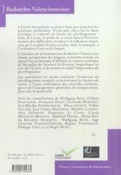 Langues etrangeres. nouvelles politiques educatives en europe - 4ème de couverture - Format classique