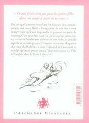 Godemichet de la gloire - 4ème de couverture - Format classique