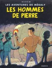 Les aventures de mékaly t.2 ; les hommes de pierre - Intérieur - Format classique