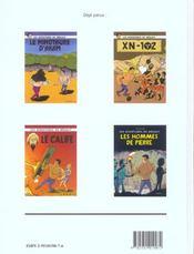 Les aventures de mékaly t.2 ; les hommes de pierre - 4ème de couverture - Format classique