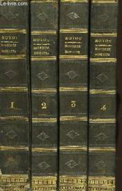 Histoire Romaine depuis la Fondation de Rome jusqu'au Règne d'Auguste. En 4 Tomes. - Couverture - Format classique
