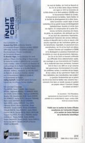 Les Inuits et les Cris du nord du Québec ; territoire, gouvernance, société et culture - 4ème de couverture - Format classique