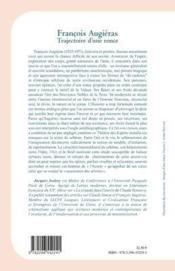 Francois Augiéras ; trajectoire d'une ronce - 4ème de couverture - Format classique
