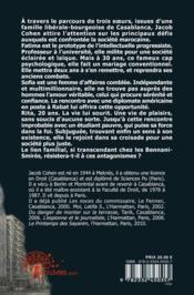 Le destin des soeurs Bennani-Smirès - 4ème de couverture - Format classique