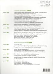 Revue Le Débat N.168 - 4ème de couverture - Format classique