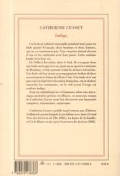 Indigo - 4ème de couverture - Format classique