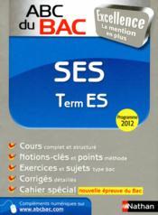 ABC DU BAC EXCELLENCE T.21 ; ses terminale ES - Couverture - Format classique