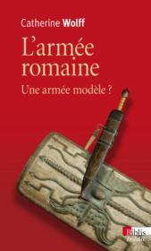 L'armée romaine - Couverture - Format classique