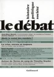Revue Le Débat N.172 - Couverture - Format classique