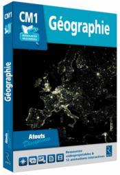 Cle Ressources Numeriques Geographie Cm1 - Couverture - Format classique