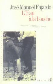 Eau A La Bouche (L') - Intérieur - Format classique
