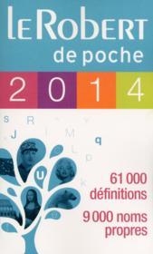 Le Robert de poche (édition 2014) - Couverture - Format classique