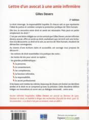 Lettre D Un Avocat A Une Amie Infirmiere 2eme Edition Gilles Devers