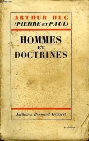 Hommes Et Doctrines. - Couverture - Format classique