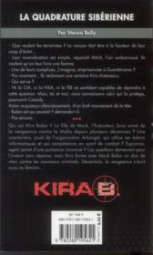 L'Executeur T.5 ; Kira, La Quadrature Sibérienne - 4ème de couverture - Format classique