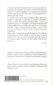 Quelle histoire ; un récit de filiation (1914-2014) - 4ème de couverture - Format classique