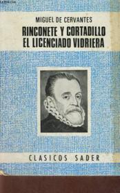 Rinconete Y Cortadillo El Licenciado Vidriera - Couverture - Format classique