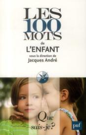 Les 100 mots de l'enfant - Couverture - Format classique